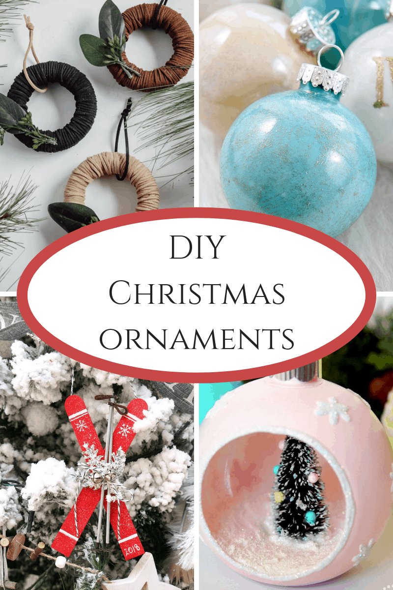 DIY Christmas Ornaments - cute crafts that you can make yourself!