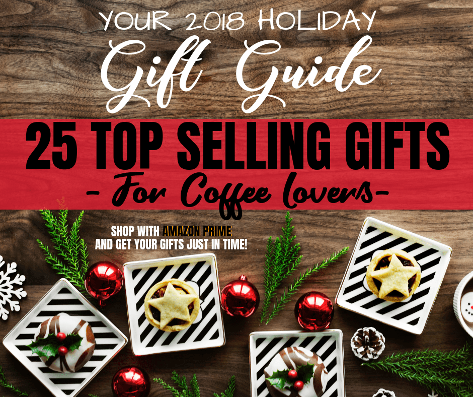 Gift Guide for Coffee Lovers - mugs, tshirts, coffees and more!