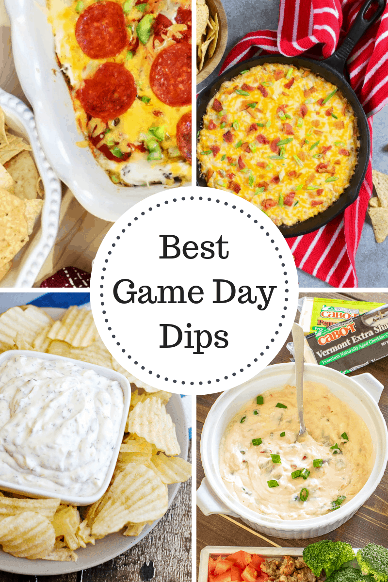 Best Game Day Dips!!! Pizza Dip, Corn Dip, Queso and MORE!!!