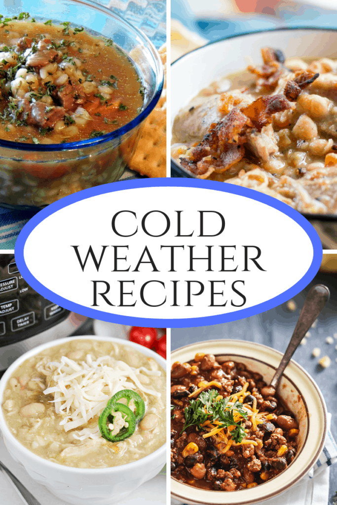 Cold Weather Recipes that will warm you from the inside out. Great stews, soups and chilis!