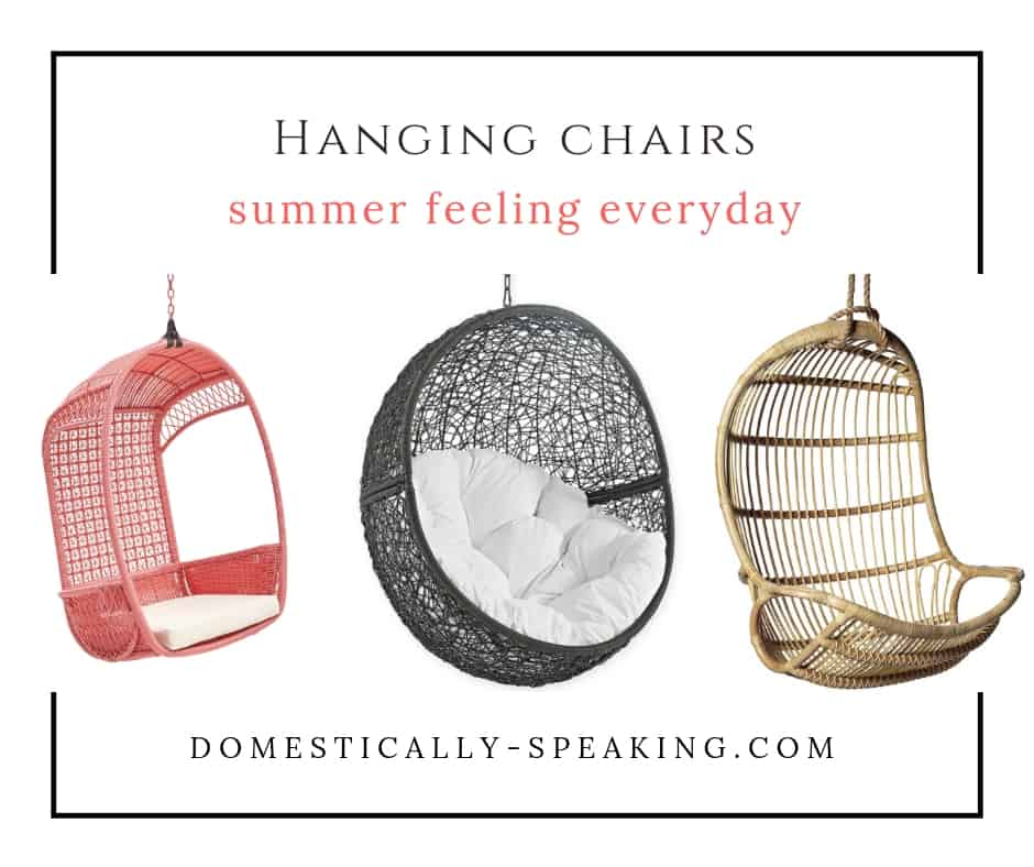 Cutest Hanging Chairs to soak in that summer vibe!