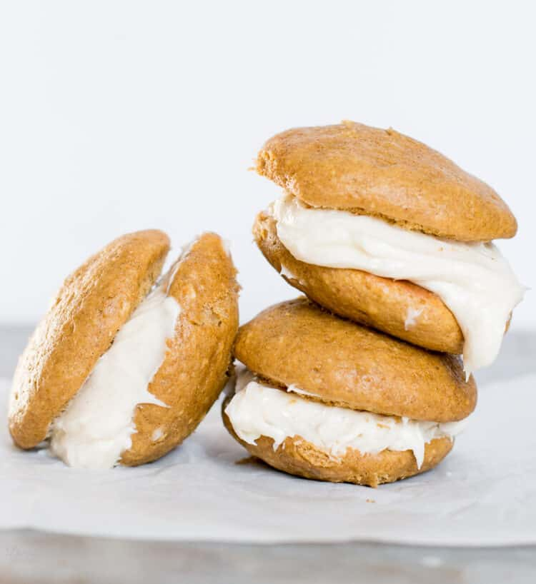 Easy to make Pumpkin Spice Whoopie PIes